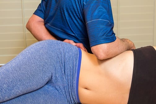 Santa Rosa Deep tissue specialist performing connective tissue massage